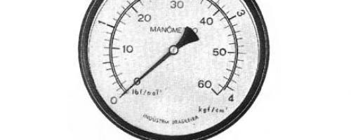 Manômetro Tipo Hidráulico