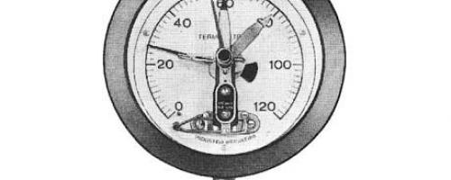 Termômetro com Leitura à Distância a Mercúrio
