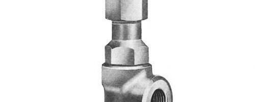 Válvula Angular Classe 2000 – Tipo Ponta de Agulha