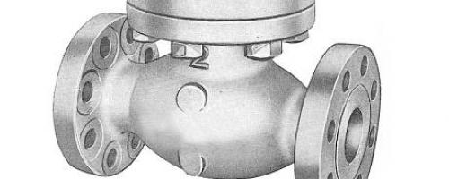 Válvula de retenção Pistão – Classe 300