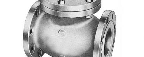 Válvula de Retenção Portinhola – Classe 150