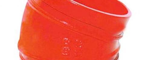 Cotovelo 22,5º Grooved / Ranhurado