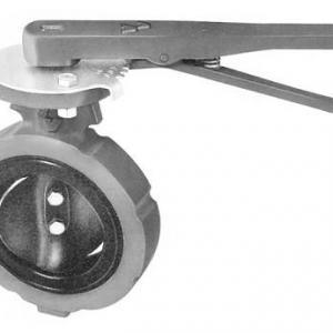 Válvula Borboleta com Acionamento Manual por Alavanca – Mod 81