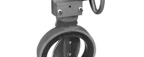 Válvula Borboleta com Acionamento Manual por Redutor Helicoidal – Mod 81