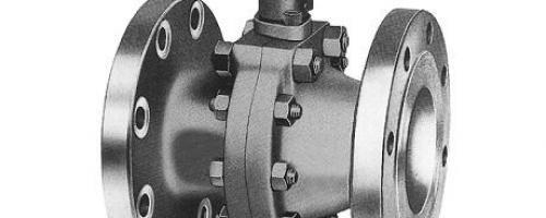 Válvula Esfera em aço inox com passagem reduzida
