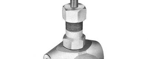 Válvula Globo Classe 3000 – Tipo Ponta de Agulha – Aço Inox